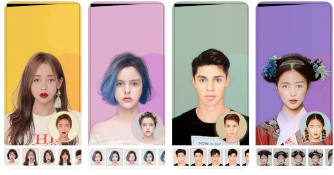 aplicativo corte de cabelo