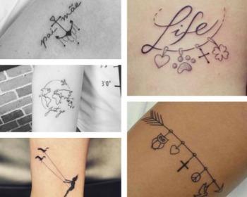 46 opções de tatuagens femininas pra você causar!