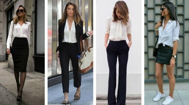 1e5f0a0ce 10 maneiras de montar looks fashions com a camisa branca - Eu Total
