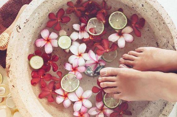 escalda pés