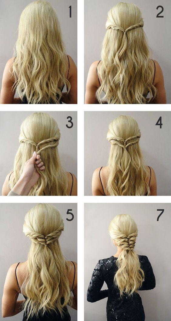 Aprenda O Passo A Passo De Oito Penteados Simples E Lindos