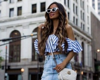 25 looks para você arrasar usando a charmosa blusa ciganinha
