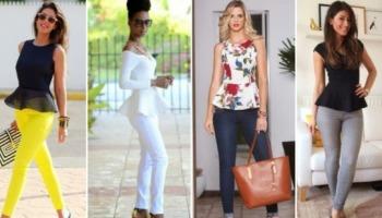 Blusa peplum: 31 looks cheios de estilo e elegância