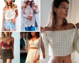 Blusas de crochê: veja os modelos que mais fazem sucesso