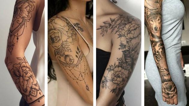 Closed arm tattoo