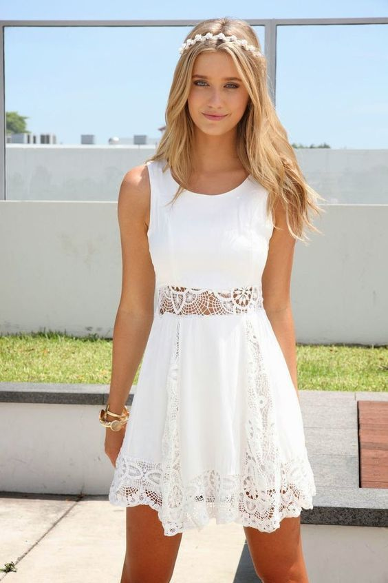 834b4e998f Vestido branco  56 modelos para um look feminino e poderoso - Eu Total