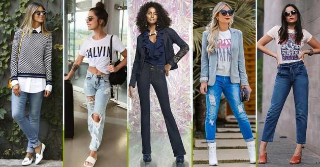 9ac5cebb1 Looks com calça jeans: 100 estilos para você se inspirar - Eu Total