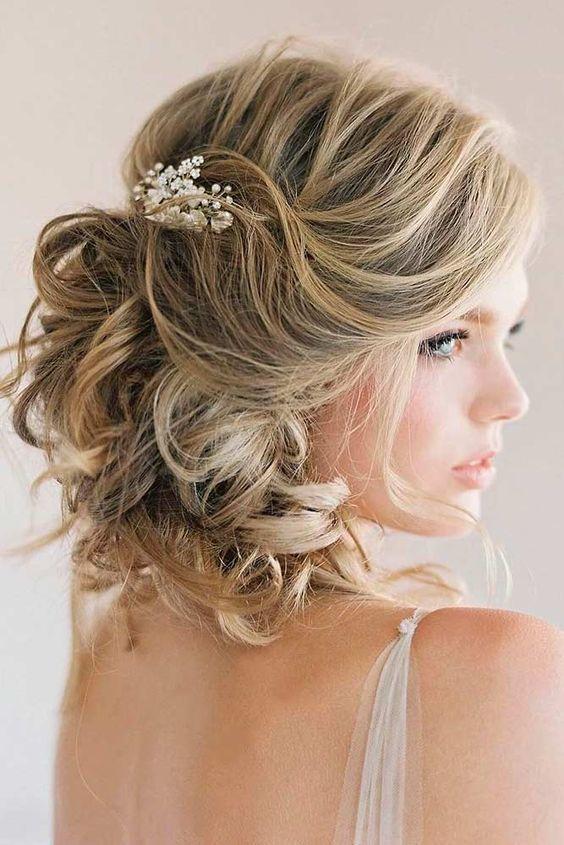 35 Penteados Para Noivas Do Solto Ao Preso Do Curto Ao