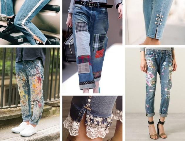 jeans customizada