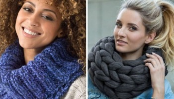 Gola de tricô: veja diferentes modelos e maneiras de usar a peça