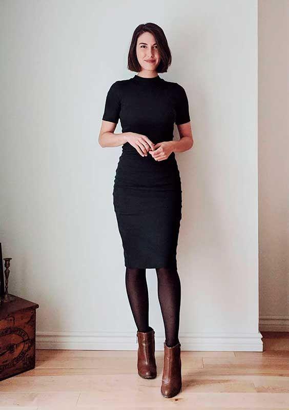 25 looks com vestido tubinho para você apostar na sua rotina!