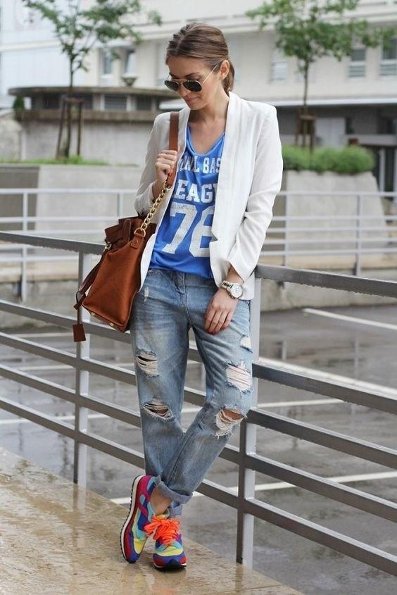 Confira looks estilosos com tênis feminino!