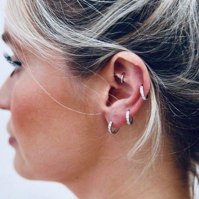 Inspirações do acessório mais cool: piercing na orelha!