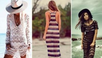 Tendência para o verão: saídas de praia de crochê