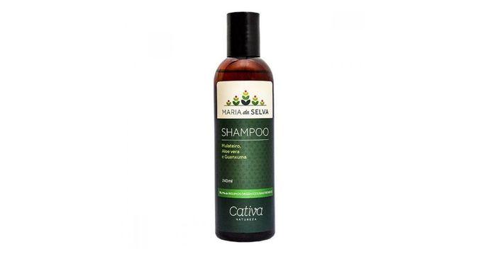 Shampoo vegano maria da selva