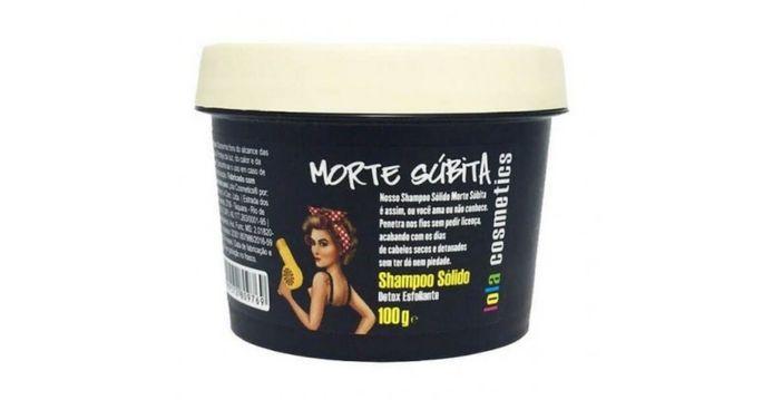 Shampoo vegano morte súbita