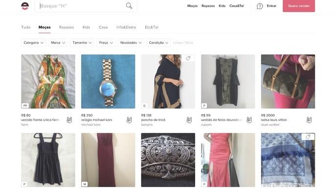 10 melhores sites de compra online: Enjoei