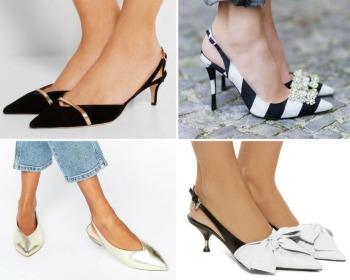 Slingback: como usar o sapato que é sinônimo de elegância e sofisticação