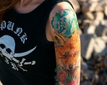 40 Tatuagens em aquarela para fugir dos clichês