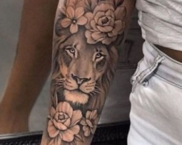 Tatuagem de leão para mulheres: veja versões arrasadoras