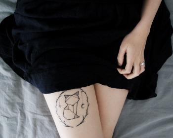 Tatuagem feminina na perna: confira ideias incríveis