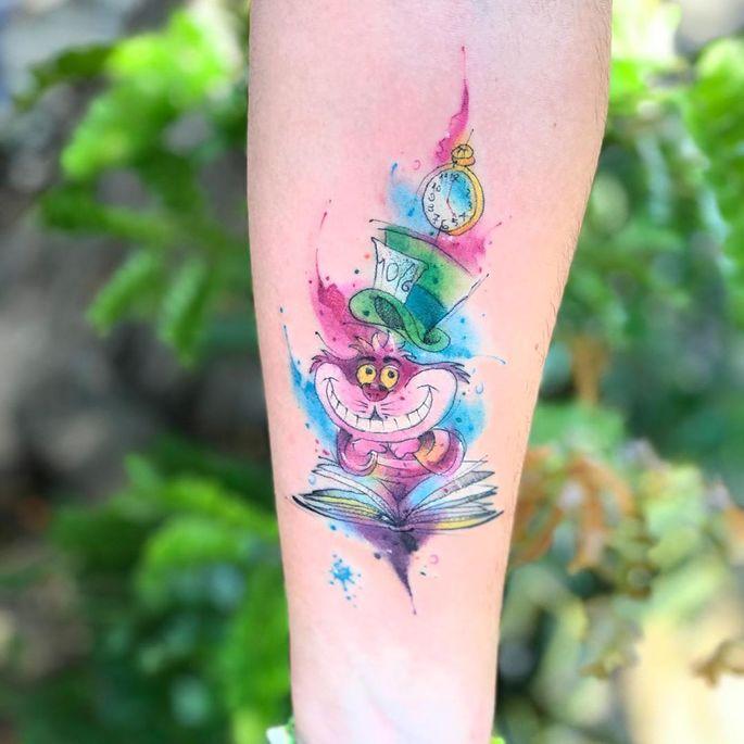 Confira tatuagens em aquarela para fugir dos clichês