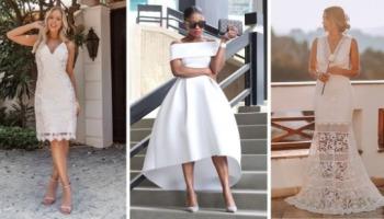 Vestido para casamento civil: opções para uma noiva elegante
