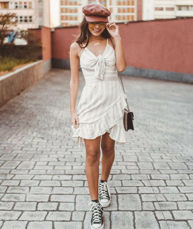 Vestido com tenis2