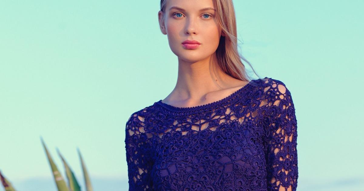 42 Modelos De Vestidos De Crochê Para Você Ficar