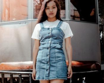 30 looks com os melhores modelos de vestido jeans