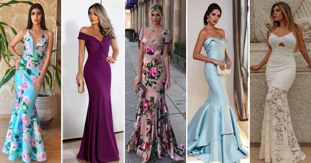 42c1f65885 Vestido sereia  75 modelos para você se sentir incrível - Eu Total